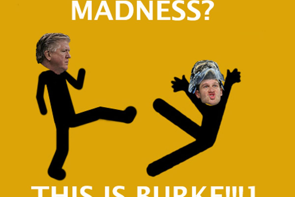 Brian Burke MADNESS from our wonderful Hungry Leafs Fan