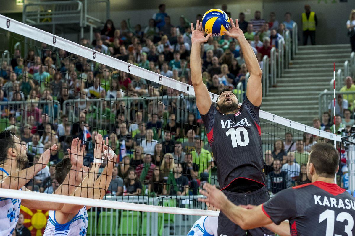 Turkey vs Slovenia : 2019 Men's European Volleyball Championship