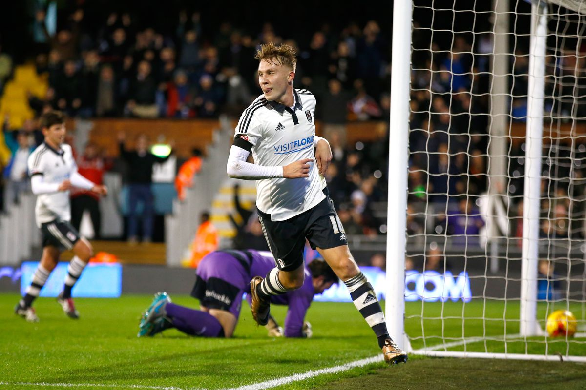 Cauley Woodrow propelled Fulham to a 4-1 win over Rotherham