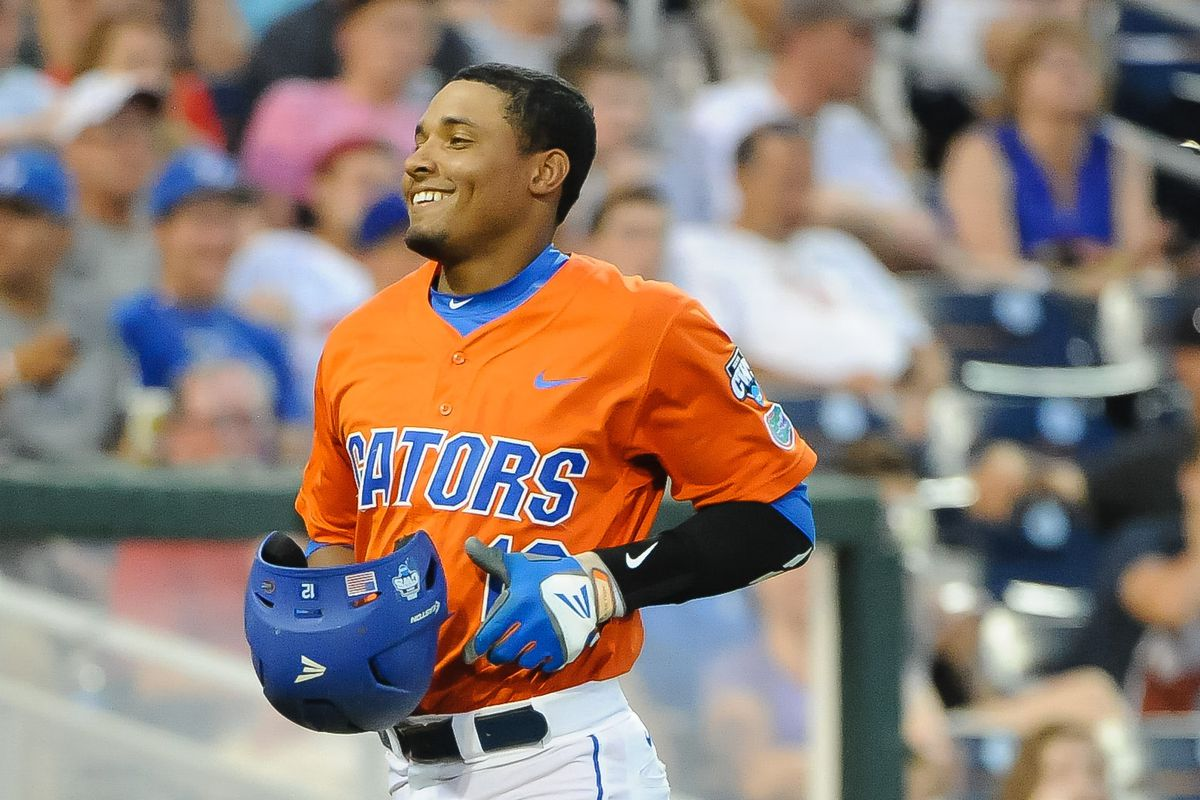 Martin played for the University of Florida Gators waaaay back in the spring of 2015.