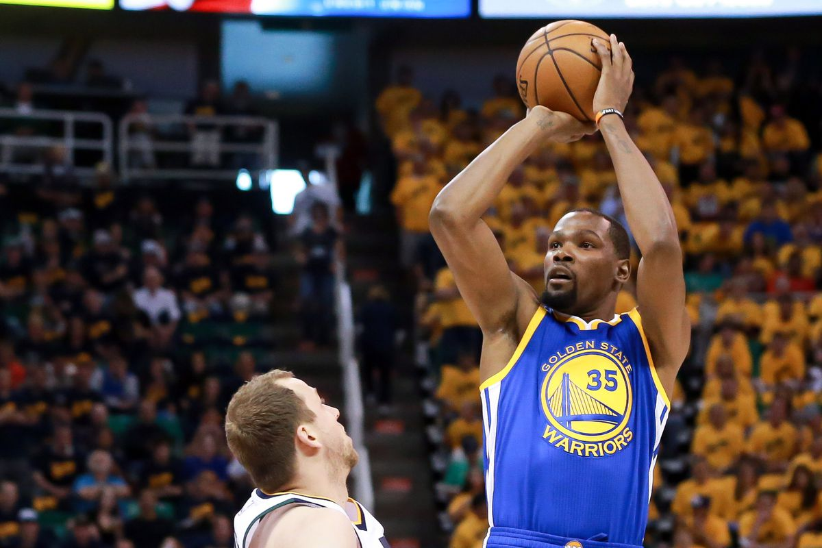 e013b2ac160 Kevin Durant reminded the NBA why the Warriors signed him last summer