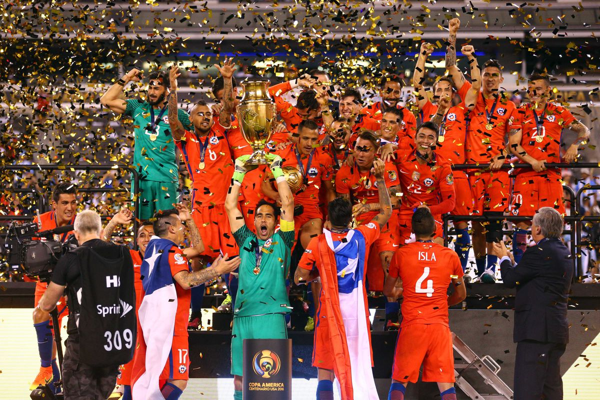 501ac91ae Copa America Centenario Final  Chile beats Argentina on penalties ...