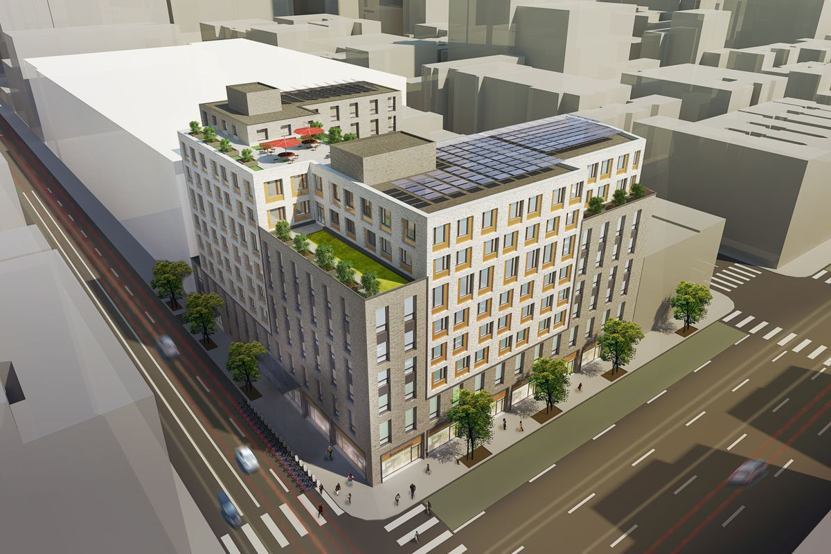 Hell's Kitchen will get 258 affordable apartments across two