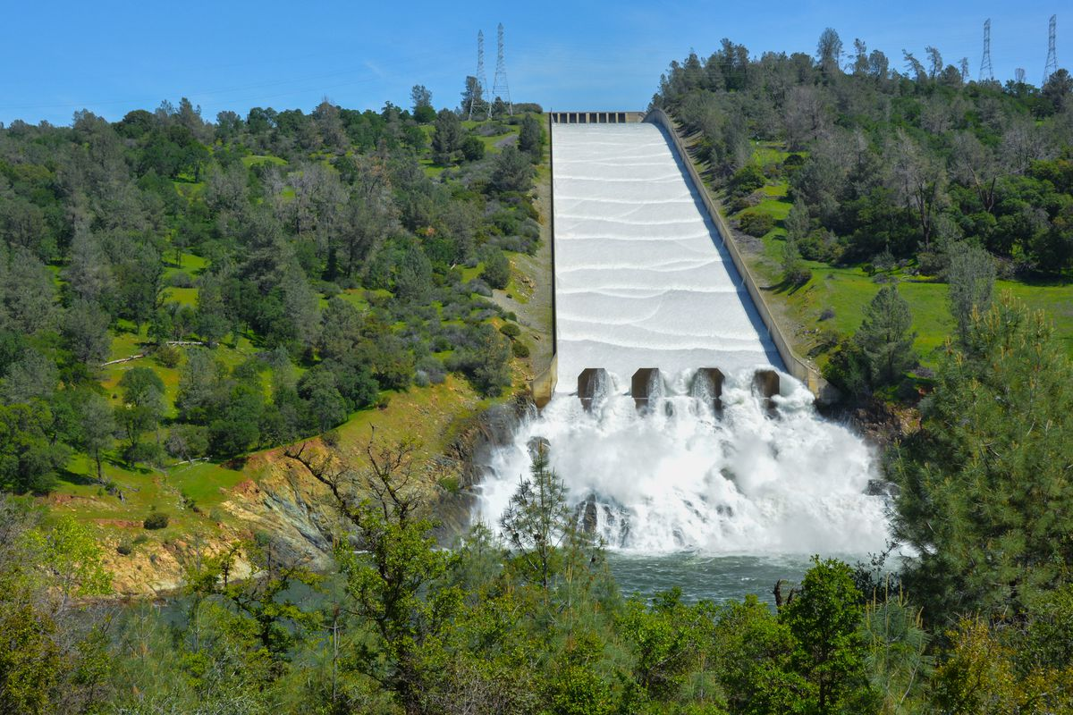 What happens if the Oroville Dam spillway fails? - Curbed SF