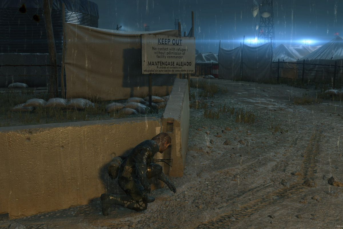 Metal Gear Solid 5 Ground Zeroes Will Run At 1080p Natively On Ps4 Ps4metal Phantom Pain Reg 2 The Playstation 4 Version Of A Native Resolution 60 Frames Per Second Konamis Official Website