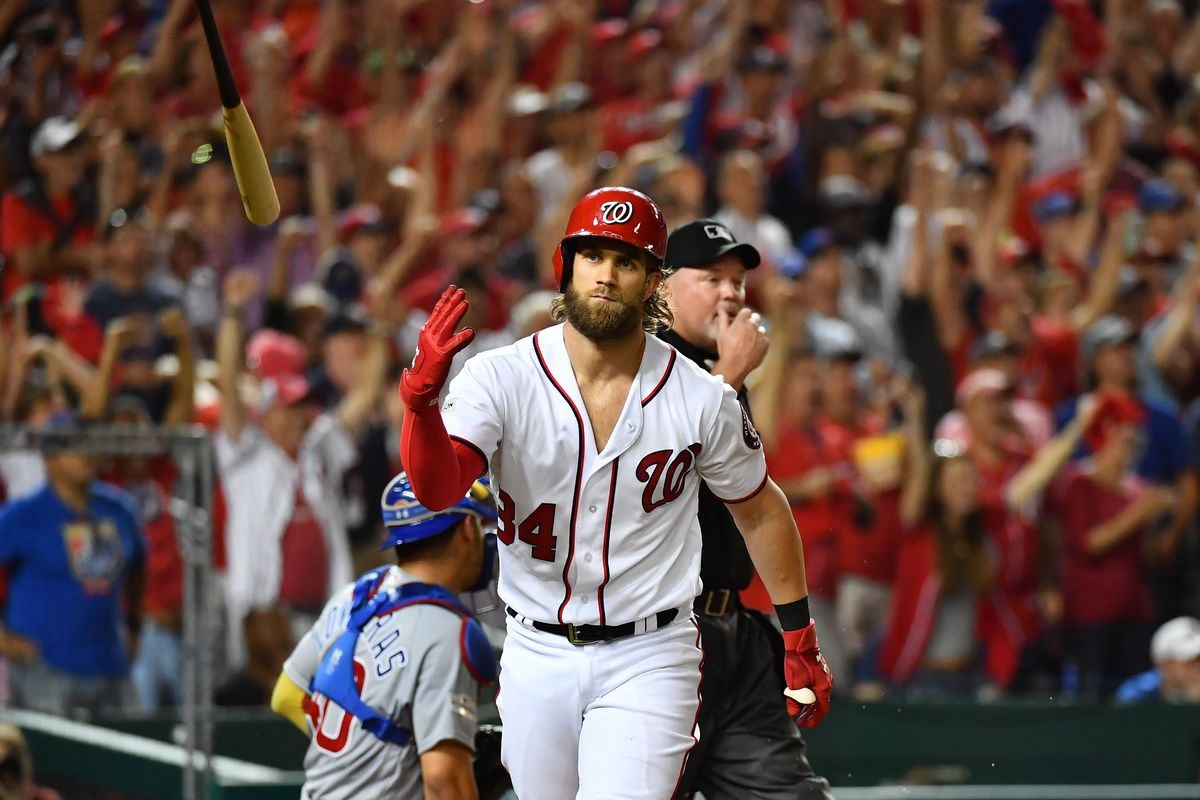 a6057f1ee71c Bryce Harper wants a new jersey for the Washington Nationals ...