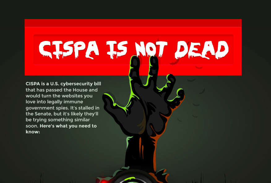 Anti-CISPA legislation graphic produced last year by advocacy group Fight for the Future