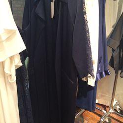 Silk opera coat, $400