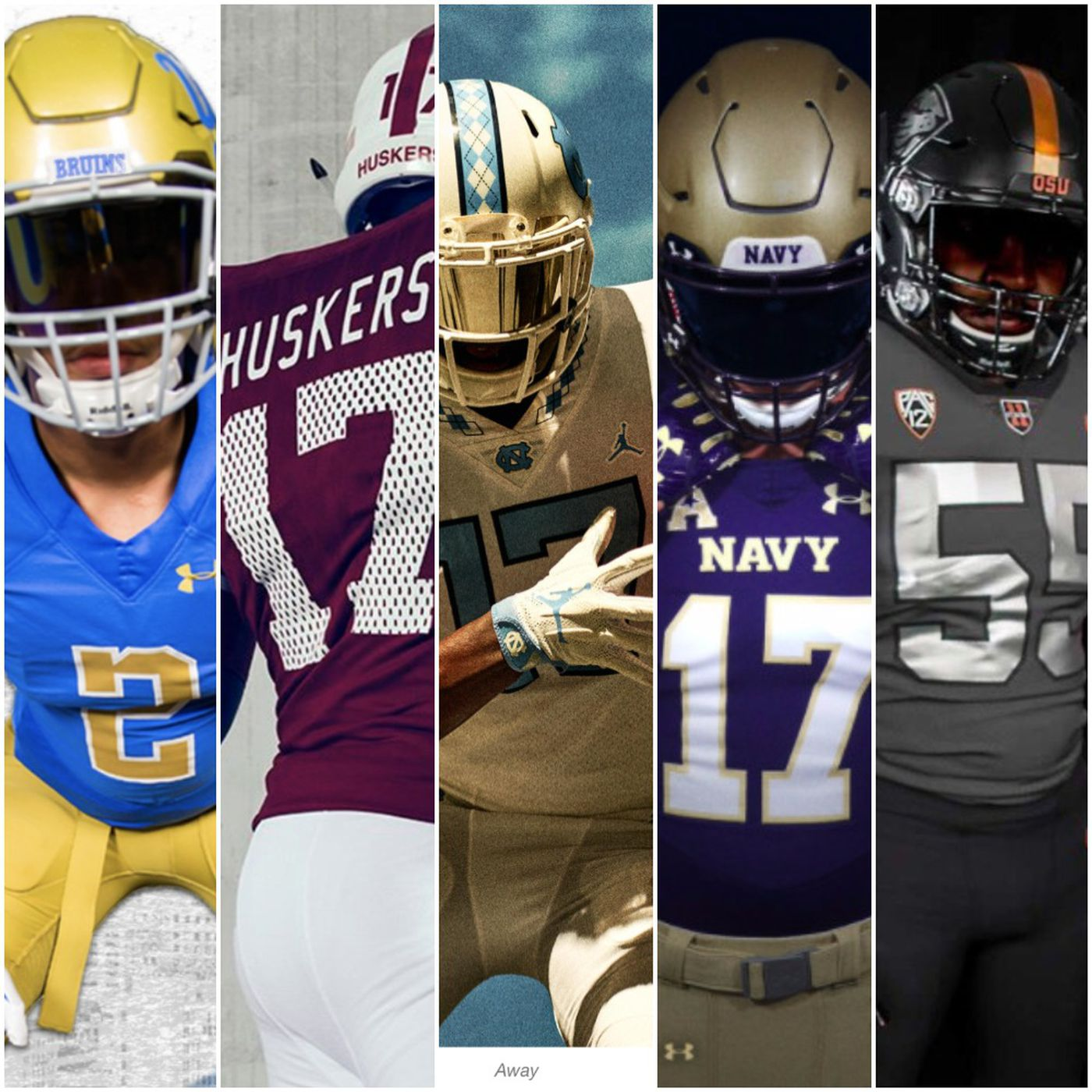 624b06a3525 26 new college football uniforms  Simple is the 2017 trend - SBNation.com