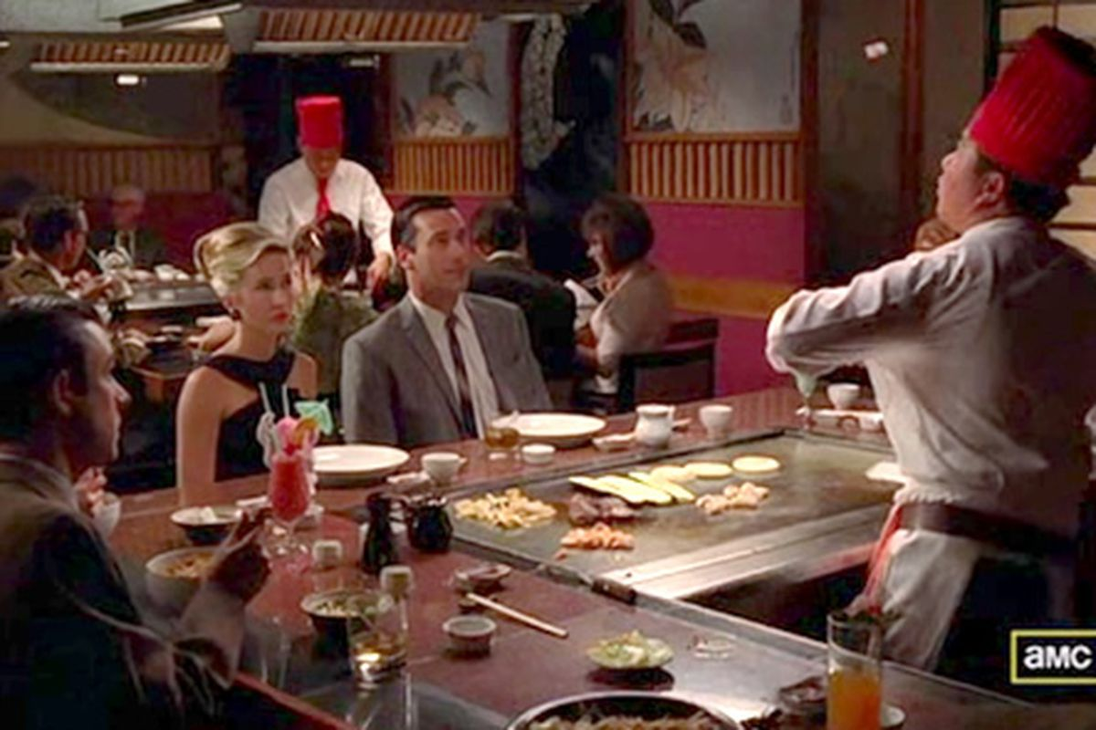 Benihana on Mad Men: This Place Is Very Expensive - Eater