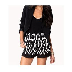 """Ikat Print Woven Shorts, $17.80 at <a href=""""http://www.forever21.com/Product/Product.aspx?BR=f21&Category=bottom_shorts&ProductID=2050404400&VariantID="""">Forever 21</a>"""