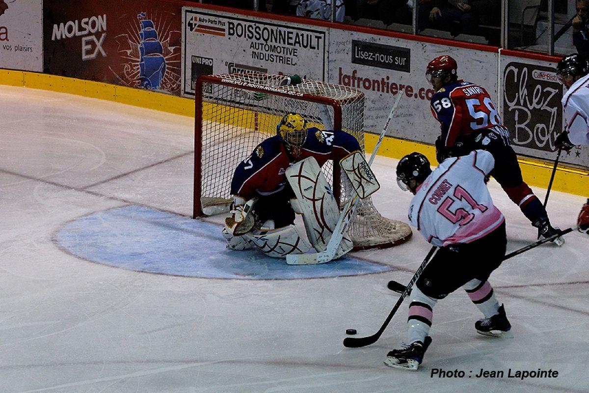 "Philippe Cornet vs. Moncton via <a href=""http://www.huskies.qc.ca/joueurs.asp"" target=""new"">Rouyn-Noranda Huskies</a> by Jean Lapointe"