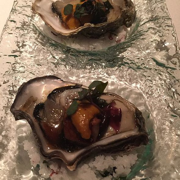 Aquaknox oysters