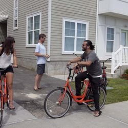 There were bikes available to ride along the boardwalk or maybe a trip to Rockaway Taco.