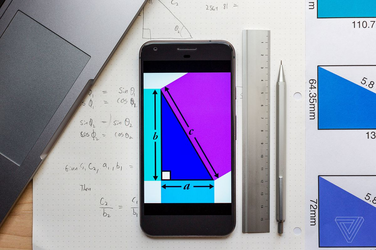 We're gonna need Pythagoras' help to compare screen sizes in