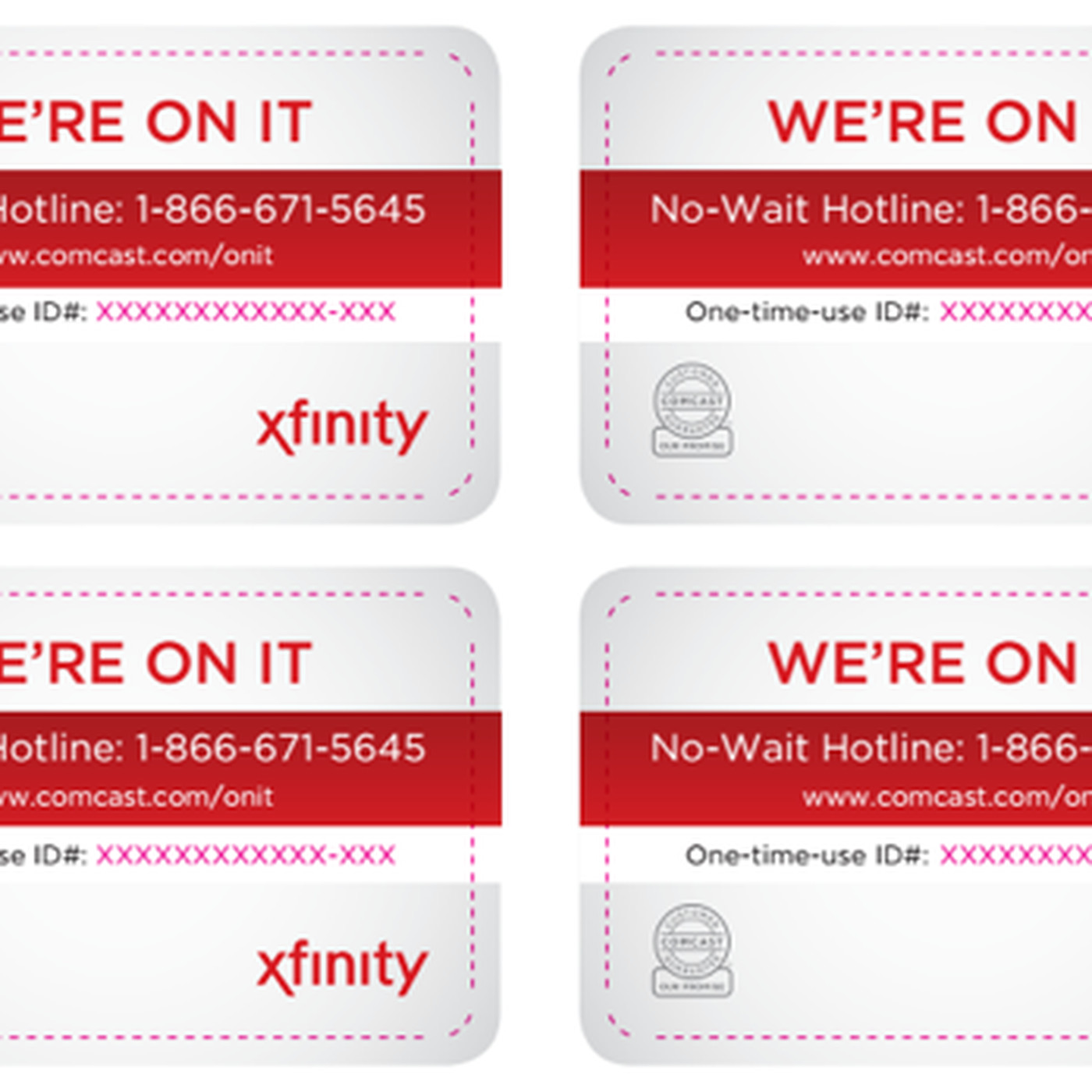 Get through to Comcast's semi-secret customer service line with one of  these special cards - The Verge