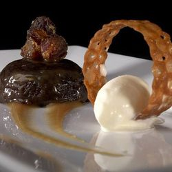 """Sticky Toffee Pudding at Troquet by <a href=""""http://www.flickr.com/photos/dalecruse/8551893142/in/pool-1844845@N22"""">dalecruse</a>."""