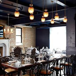 See what your neighbors are sipping at the communal table