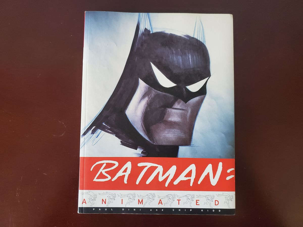 Photo of Batman Animated by Paul Dini and Chip Kidd  on a table