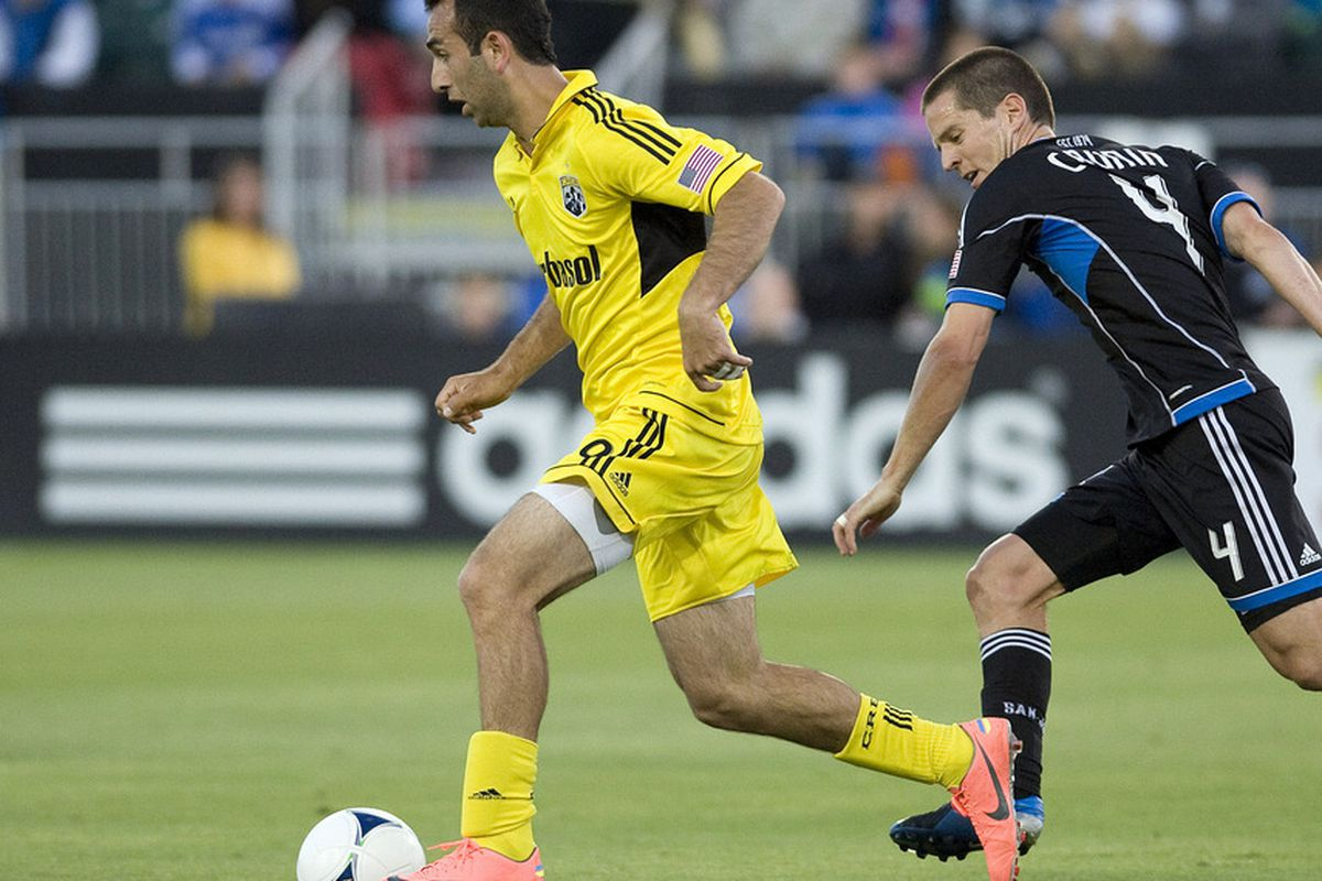 Meram gave the Crew hope for a full three points with his beautiful goal.
