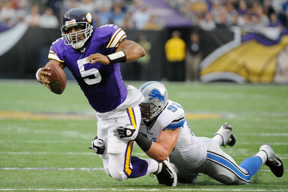 best service 48d57 be5c4 What's The Most Embarrassing Vikings Jersey You Own? - Daily ...