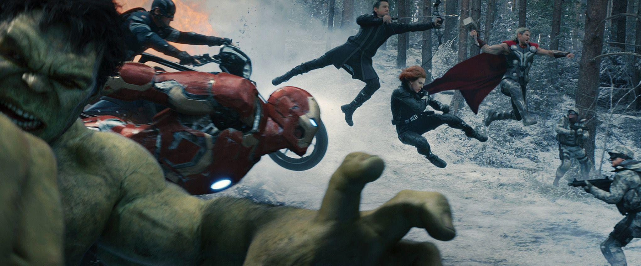 Avengers: Age of Ultron promotional still (MARVEL/DISNEY)