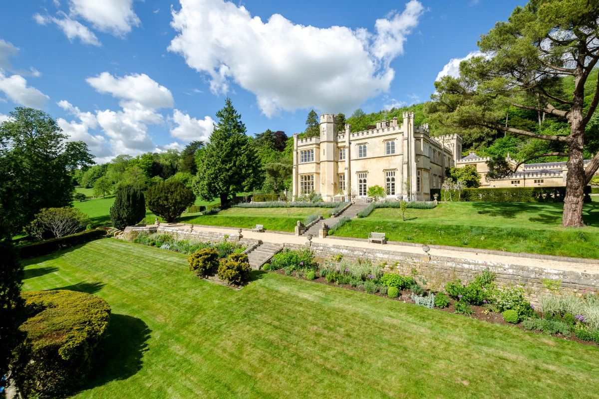 Own A Wing Of A Fabulously Restored 18th Century English Manor House