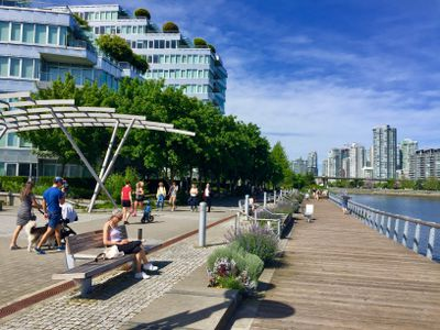 Vancouver's waterfront.