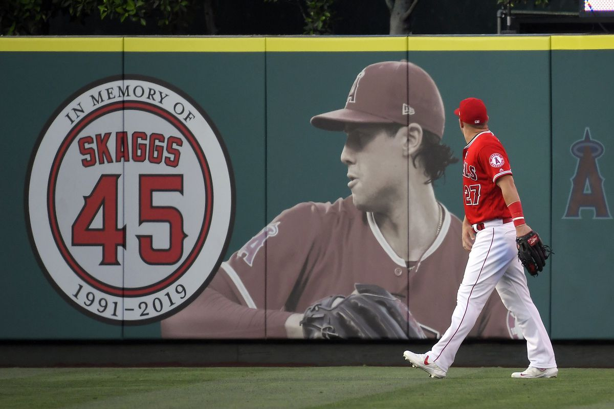 The family of former Los Angeles Angels pitcher Tyler Skaggs filed lawsuits Tuesday, June 29, 2021, in Texas and California charging the team and two former employees with negligence in his drug-related death two years ago.