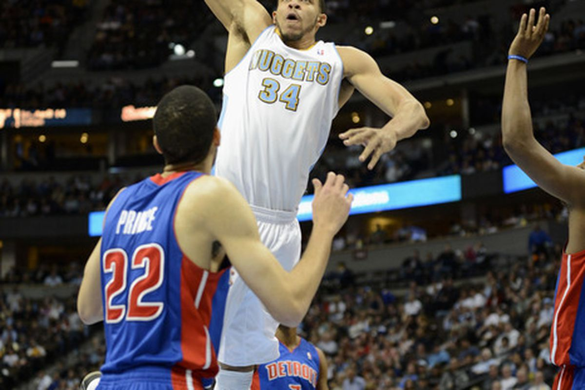 JaVale McGee. This picture is not his game winning shot