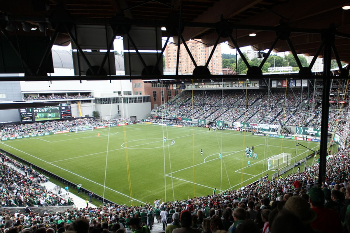 Jeld-Wen Field in Portland, Oregon could host a World Cup qualifier in the future.