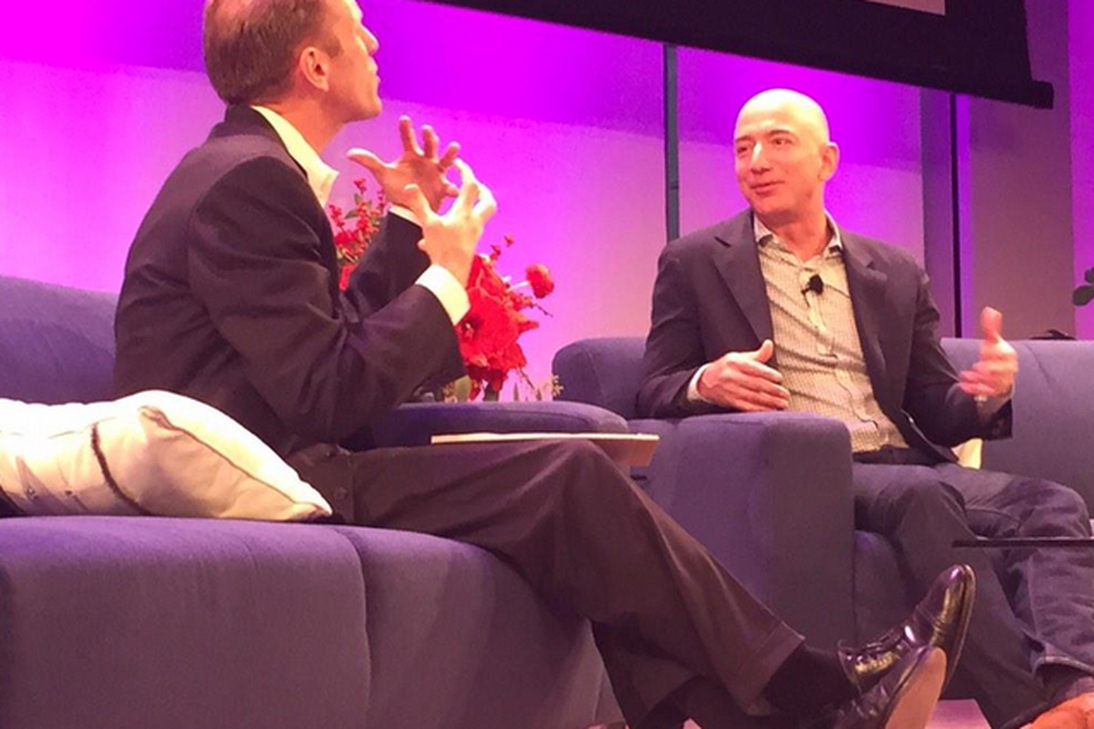 Five Things We Learned About Amazon CEO Jeff Bezos From His Rare Public Appearance
