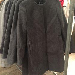 Wool coat, $130