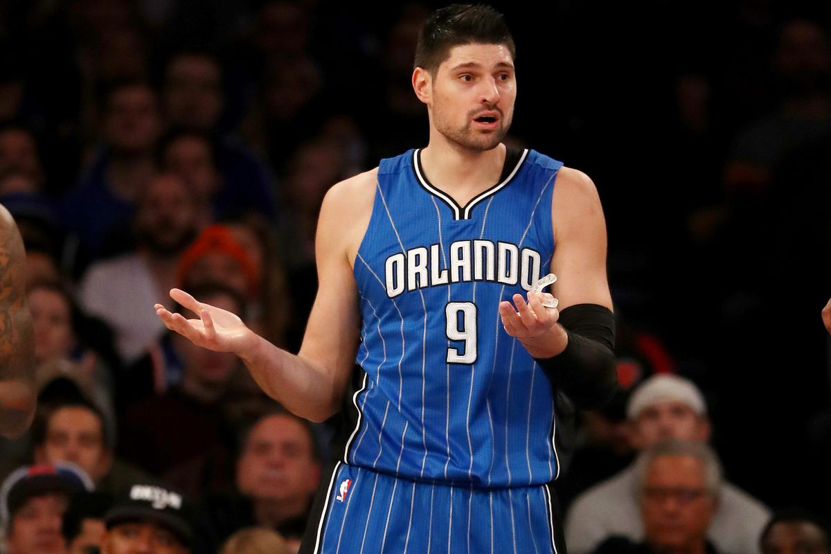 Nikola Vucevic Out Six-to-Eight Weeks with Broken Finger