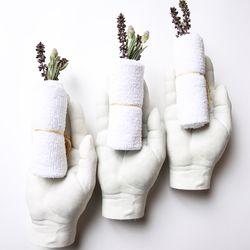 Warm towels