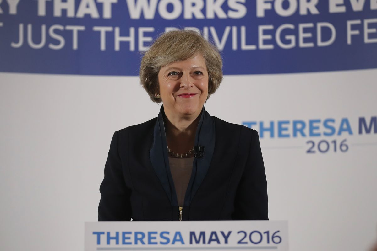 Theresa May Launches Her Campaign For The Conservative Leadership