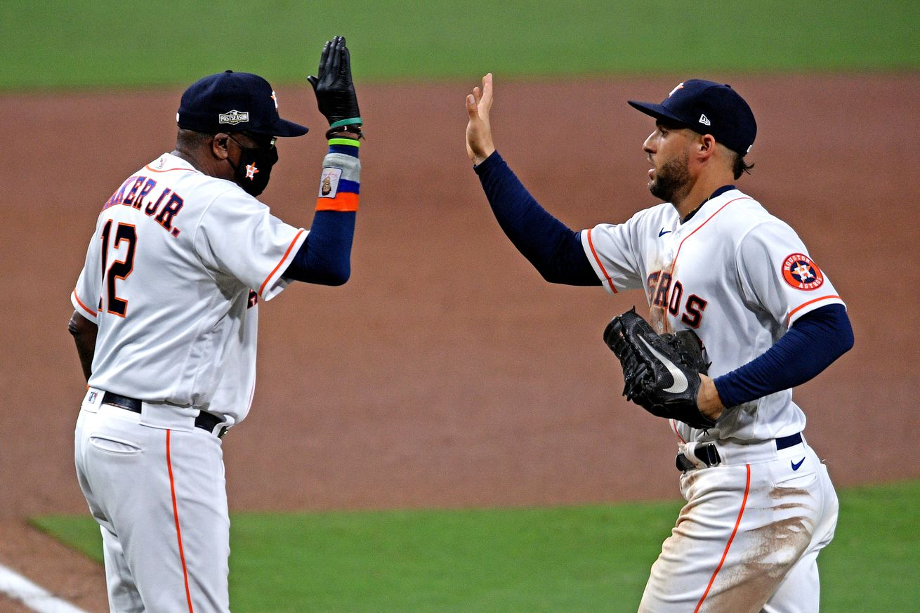 MLB: ALCS-Tampa Bay Rays at Houston Astros