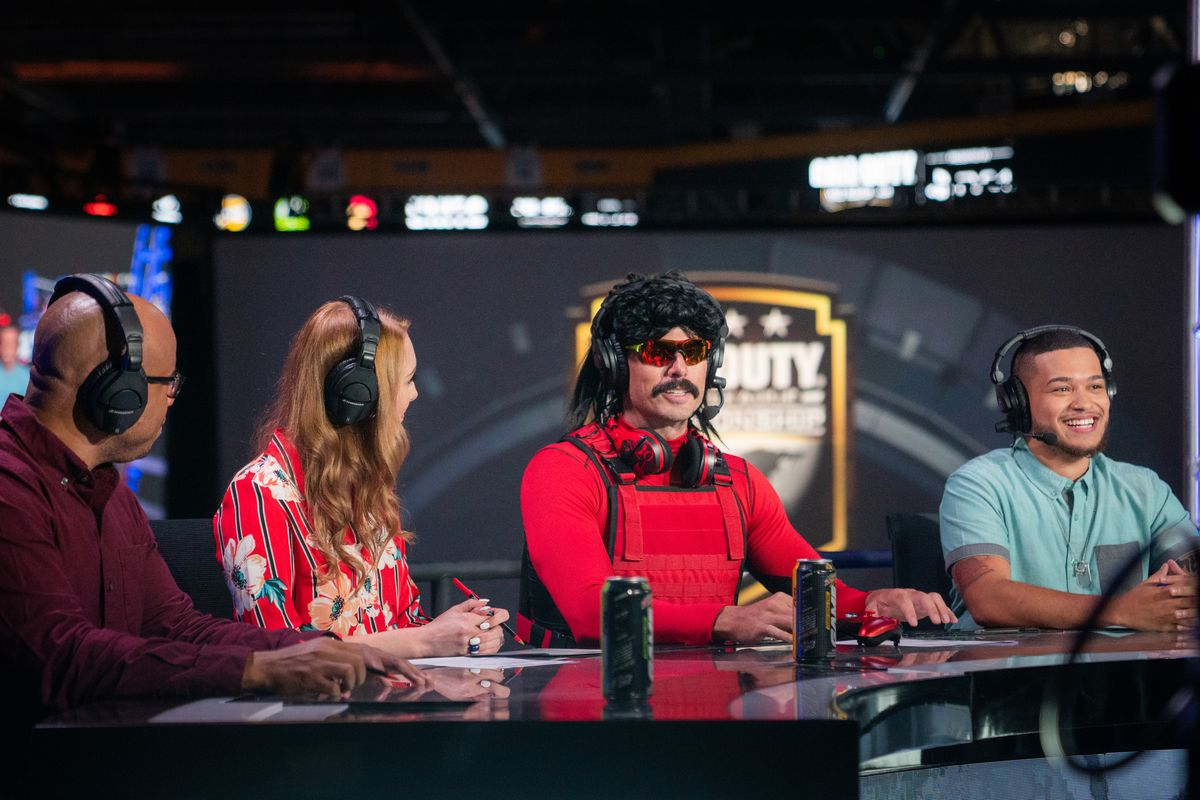 Dr DisRespect is interviewed at Call of Duty World League Championship