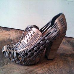 Another pair of Miista heels, $198