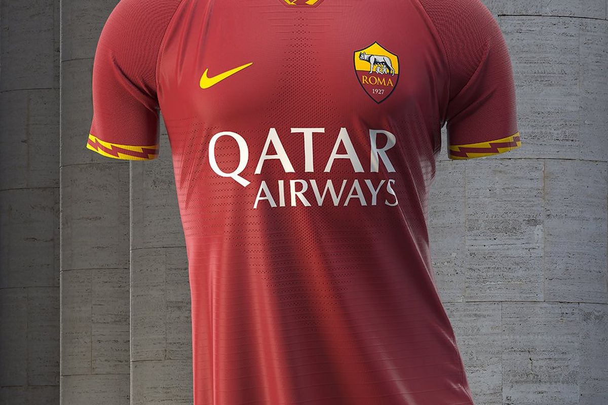 new style 8f947 4b062 Official: Roma Unveil New Home Kits - Chiesa Di Totti