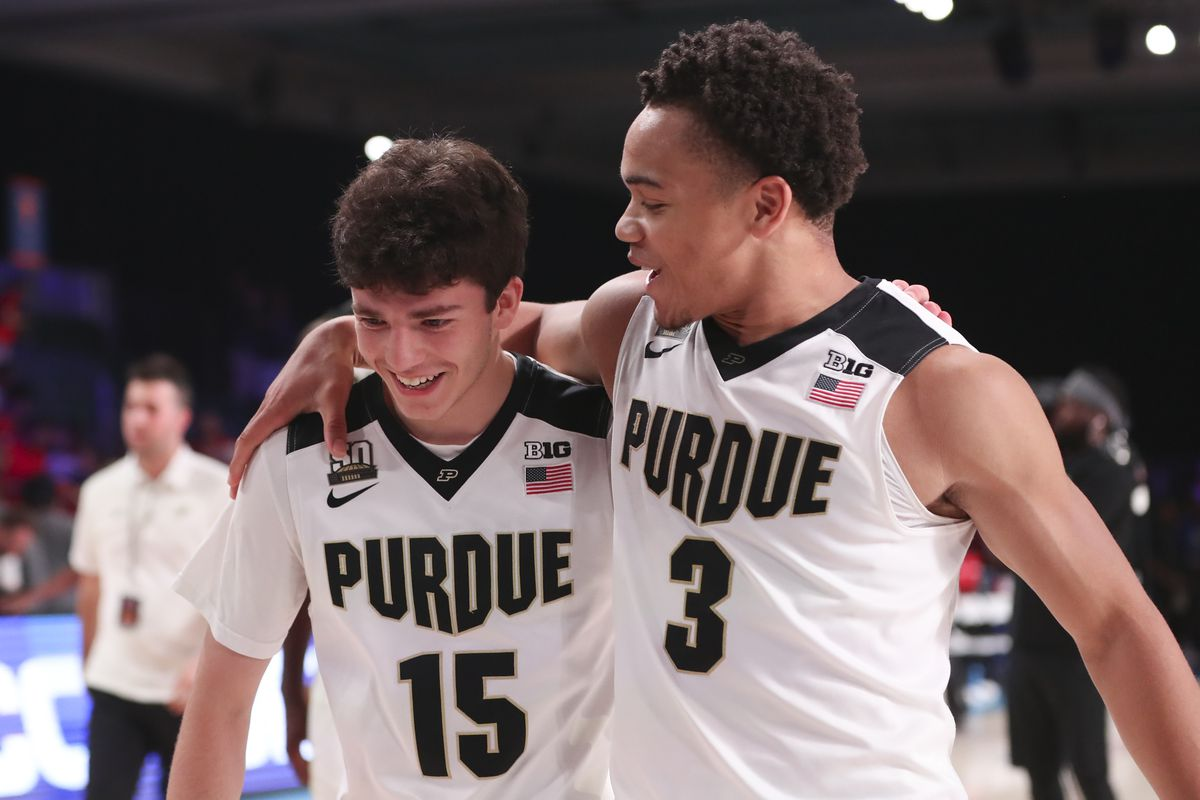 promo code a889a 3b7c0 15 Days to Purdue Basketball: Tommy Luce - Hammer and Rails
