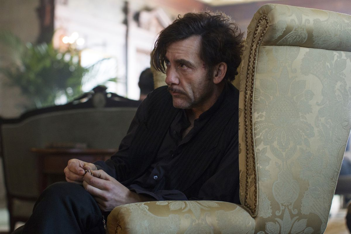 Clive Owen on The Knick.