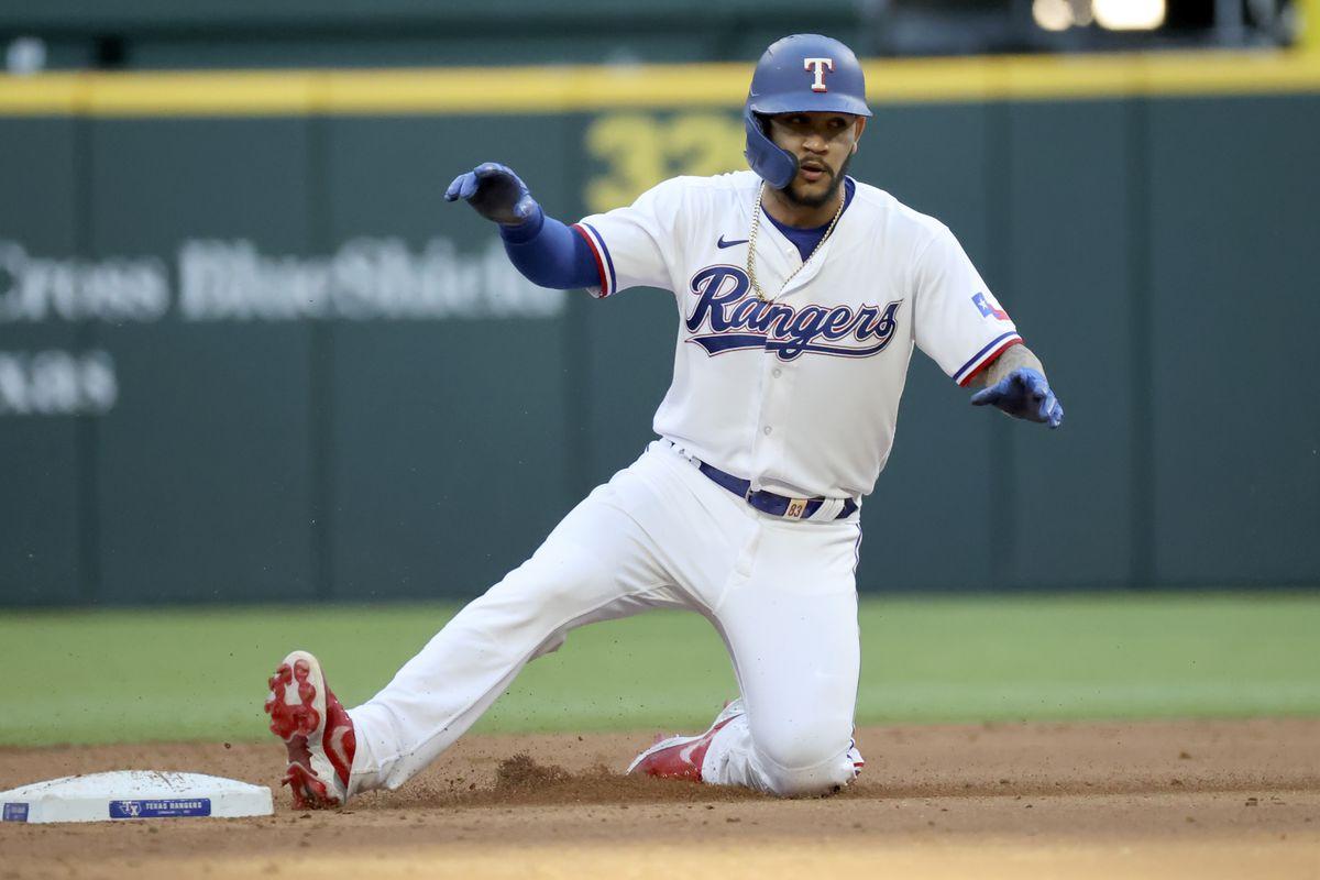 MLB: San Diego Padres at Texas Rangers