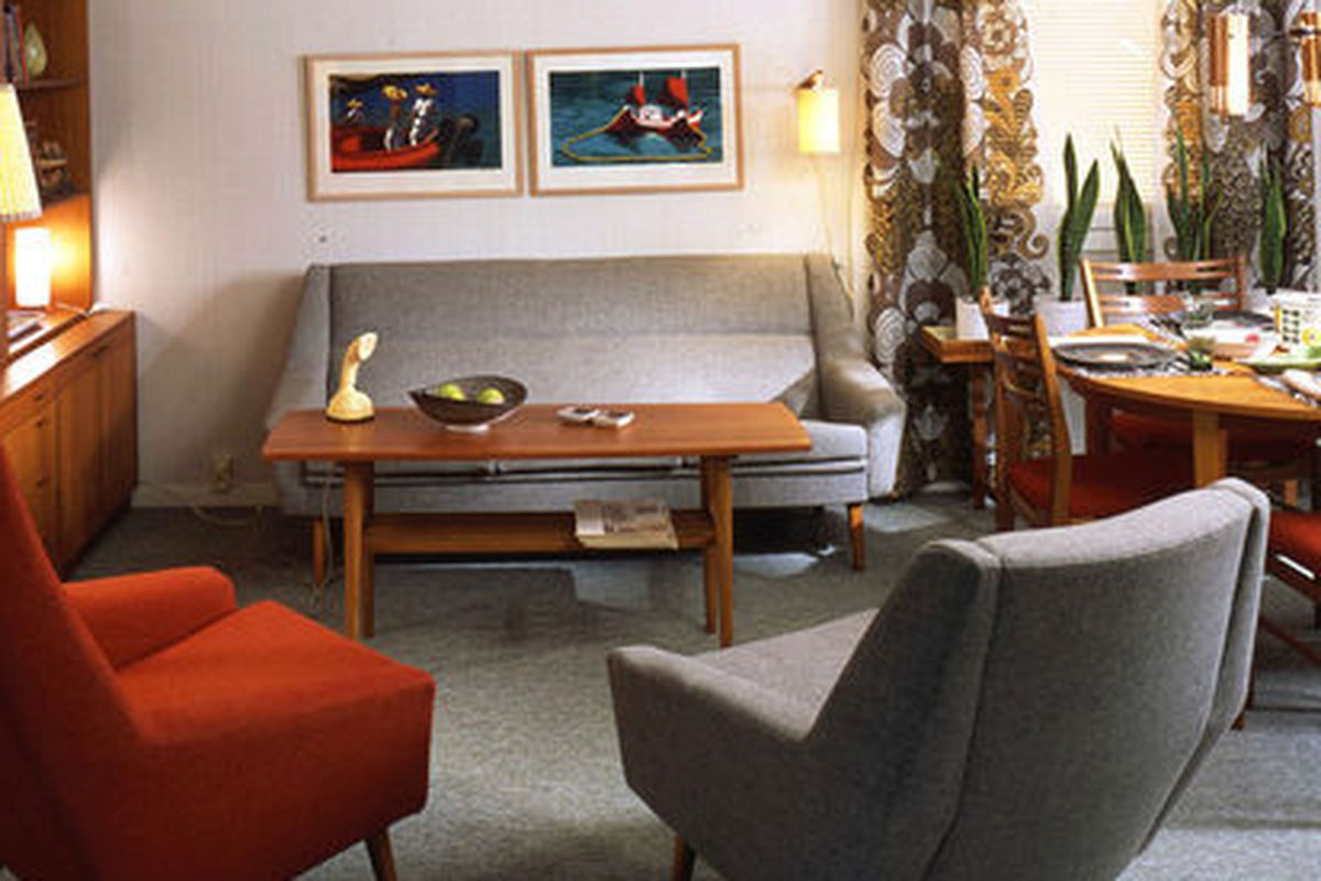 """Ikea's look in the sixties; Photo via <a href=""""http://curbed.com/archives/2014/06/25/vintage-ikea-1960s-1970s.php"""">Curbed</a>"""