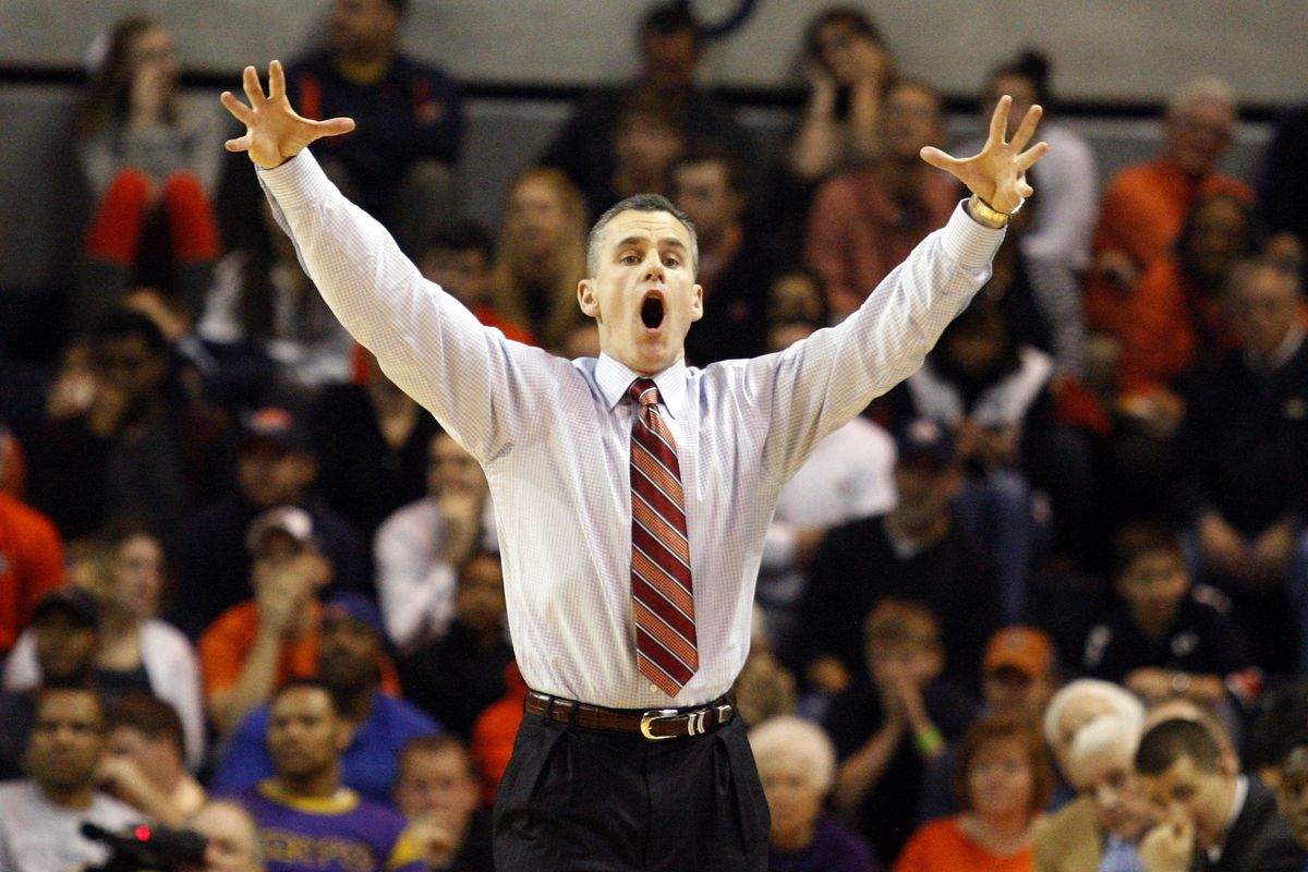 Billy Donovan's bear impression could use some work.
