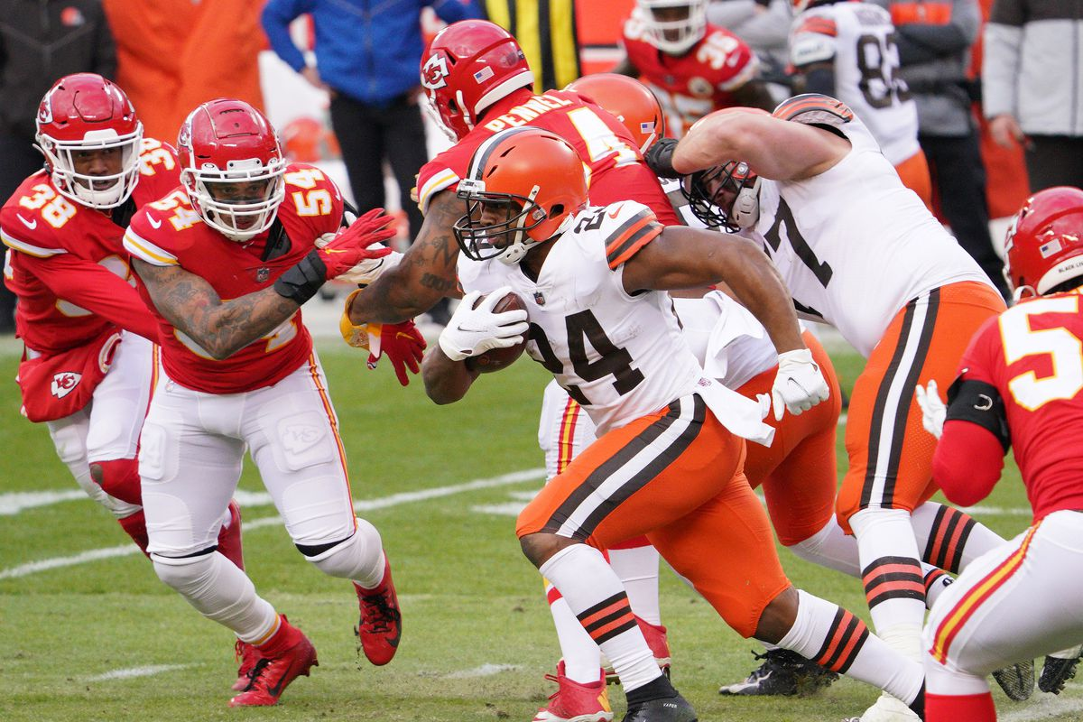 NFL: AFC Divisional Round-Cleveland Browns at Kansas City Chiefs