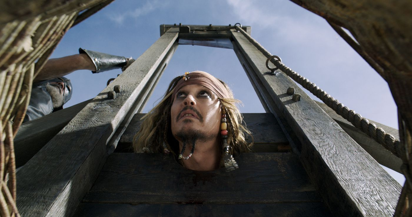 Pirates of the Caribbean: Dead Men Tell No Tales is the second-best
