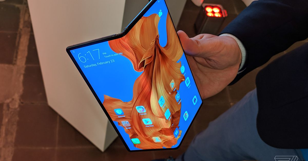 photo image Foldable phones are about to make the US very jealous