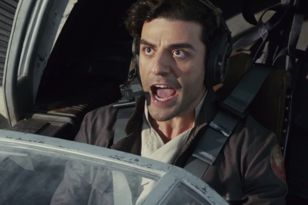 Oscar Isaac stars as Poe Dameron in the Star Wars sequel trilogy.