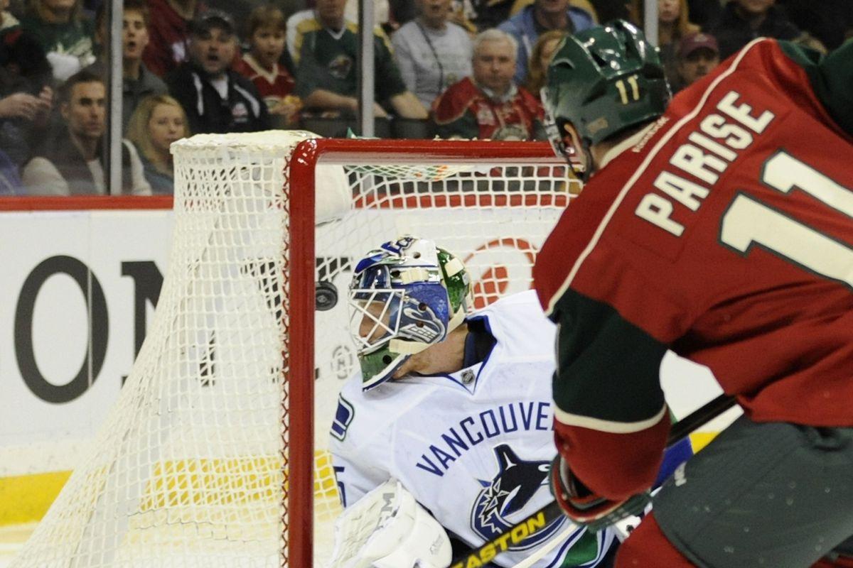 Minnesota Wild @ Vancouver Canucks: Game 28